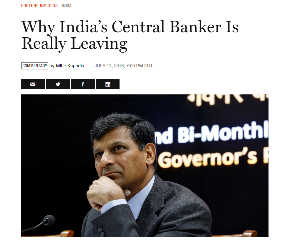 Why India central bank 1